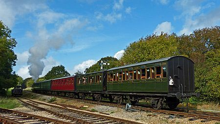 Steam Railway bij Wootton
